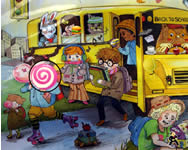 School bus hidden object j�t�k